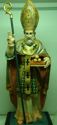 "Restauro conservativo scultura lignea ""San Nicola"" sec. XVIII Casalvecchio -Foggia-"