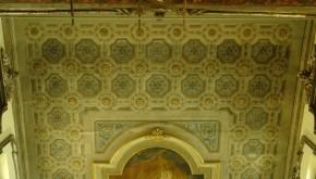 """Restauro conservativo dipinto murale del Plafone decorato con tempera grassa """"Chiesa della Pietà"""" San Severo -Foggia-"""