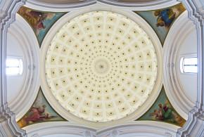"""Restauro conservativo dipinti murali """"I Quattro Evangelisti"""" Cattedrale di Manfredonia -Foggia-"""