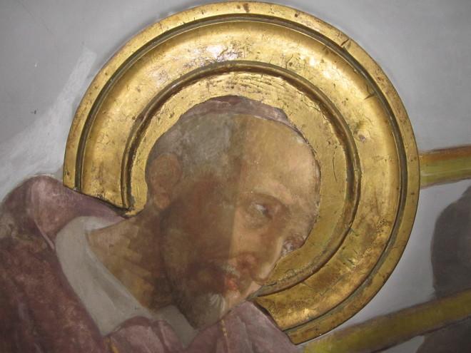 Restauro conservativo dipinti murali chiesa san michele - Di trani porte ...