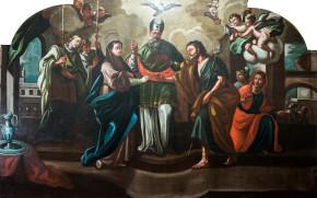 """Ritorno al culto del dipinto raffigurante """"Lo sposalizio della Vergine"""" venerato nella Chiesa di San Domenico Lucera -Foggia-"""