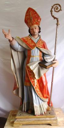 Restauro conservativo scultura lignea raff. San Donato