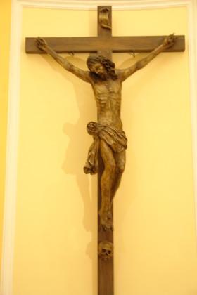 Restauro conservativo del Crocifisso del XVIII SEC. ubicato nella Chiesa di S. Francesco Saverio in Foggia