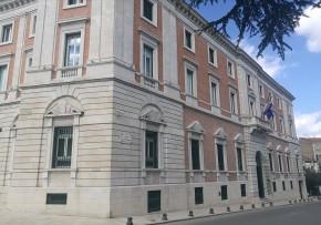 Restauro lapideo facciata Banca D'Italia di Campobasso